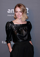 NEW YORK, NY - FEBRUARY 6: Lindsay Ellingson arriving at the 21st annual amfAR Gala New York benefit for AIDS research during New York Fashion Week at Cipriani Wall Street in New York City on February 6, 2019. <br /> CAP/MPI99<br /> &copy;MPI99/Capital Pictures