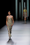 02.09.2012. Models walk the runway in the Martin Lamothe fashion show during the Mercedes-Benz Fashion Week Madrid Spring/Summer 2013 at Ifema. (Alterphotos/Marta Gonzalez)