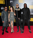 Apl.de.ap,Stacy Ferguson aka Fergie,Taboo & Will.i.am of the Black Eyed Peas at The 2009 American Music Awards held at The Nokia Theatre L.A. Live in Los Angeles, California on November 22,2009                                                                   Copyright 2009 DVS / RockinExposures