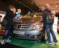 09-02-11Tennis, Rotterdam, ABNAMROWTT,   Kidsplaza, Tennisplaza, Loting, Mercedes