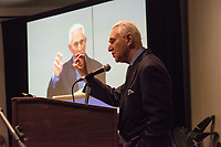 NEW YORK, NY - JUNE 16: Controversial Republican operative Roger Stone addresses the Cannabis World Congress and Business Exposition trade show in NYC on June 16, 2017.  As a social libertarian, Stone advocates for the decriminalization of marijuana. Stone has attracted public attention for his role as informal adviser to Donald Trump in the 2016 presidential campaign, amid allegations of Trump campaign collusion with Russia. (Photo by VIEWpress)