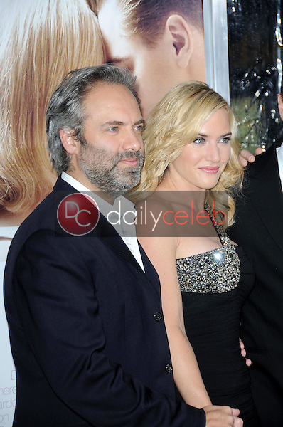 Sam Mendes and Kate Winslet <br /> at the World Premiere of 'Revolutionary Road'. Mann Village Theater, Westwood, CA. 12-15-08<br /> Dave Edwards/DailyCeleb.com 818-249-4998