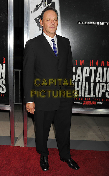 Chris Mulkey<br /> Premiere of &quot;Captain Phillips&quot; held at the Academy of Motion Picture Arts and Sciences, Beverly Hills, California, USA.<br /> September 30th, 2013<br /> full length black suit<br /> CAP/ROT/TM<br /> &copy;Tony Michaels/Roth Stock/Capital Pictures