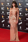 Susana Abaitua attends red carpet of Feroz Awards 2018 at Magarinos Complex in Madrid, Spain. January 22, 2018. (ALTERPHOTOS/Borja B.Hojas)
