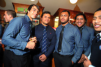 at the Wellington Rugby Union Tui Awards at the Embassy Theatre, Wellington, New Zealand on Tuesday, 30 October 2012. Photo: Dave Lintott / lintottphoto.co.nz