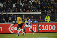 VOETBAL: SC HEERENVEEN: Abe Lenstra Stadion, 17-02-2012, SC-Heerenveen-NAC, Eredivisie, Eindstand 1-0, Luciano Narsingh, Eric Botteghin (3), ©foto: Martin de Jong.