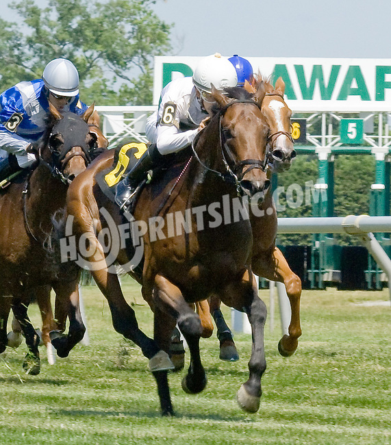 Utlety winning at Delaware Park on 6/16/12