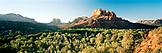 USA, Arizona, landscape with cathedral rocks, Sedona
