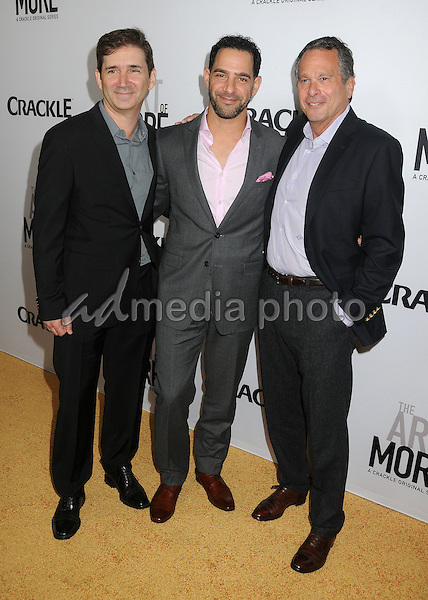 "29 October 2015 - Culver City, California - Chuck Rose, Patrick Sabongui, Gardner Stern. ""The Art Of More"" Series Premiere held at Sony Pictures Studios. Photo Credit: Byron Purvis/AdMedia"