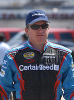 Apr 27, 2007; Talladega, AL, USA; Nascar Nextel Cup Series driver Joe Nemechek (13) during practice for the Aarons 499 at Talladega Superspeedway. Mandatory Credit: Mark J. Rebilas