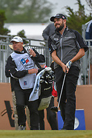 Troy Merritt (USA) watches his tee shot on 10 during Round 3 of the Valero Texas Open, AT&amp;T Oaks Course, TPC San Antonio, San Antonio, Texas, USA. 4/21/2018.<br /> Picture: Golffile   Ken Murray<br /> <br /> <br /> All photo usage must carry mandatory copyright credit (&copy; Golffile   Ken Murray)