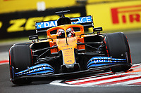18th July 2020, Hungaroring, Budapest, Hungary; F1 Grand Prix of Hungary,  qualifying sessions;  55 CarlSainz ESP, McLaren F1 Team