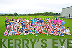 Boys and Girls from  Farranfore GAA, club taking part in the summer Cul Camp on Monday