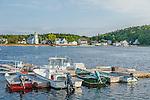 Summer in Popham Beach, Maine, USA