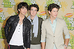 Joe Jonas,Kevin Jonas & Nick Jonas at The 2009 Nickelodeon's Kids Choice Awards held at Pauley Pavilion in West Hollywood, California on March 28,2009                                                                     Copyright 2009 Debbie VanStory/RockinExposures