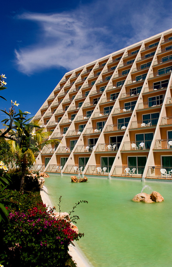 Beautiful expensive elegant Blau Varadero Hotel in the wonderful relaxing Varadero Beach in Cuba