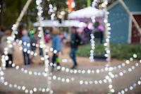 Festive Creative Blur Background, Arts A Glow Festival 2017, Dottie Harper Park, Burien, WA, USA.