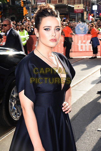 "TORONTO, ONTARIO - SEPTEMBER 07: Katherine Langford attends the ""Knives Out"" premiere during the 2019 Toronto International Film Festival at Princess of Wales Theatre on September 07, 2019 in Toronto, Canada.     <br /> CAP/MPI/IS<br /> ©IS/MPI/Capital Pictures"
