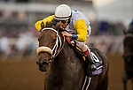 DEL MAR, CA - NOVEMBER 03: Forever Unbridled #6, ridden by John Velazquez wins The Breeders' Cup Distaff at Del Mar Thoroughbred Club on November 03, 2017 in Del Mar, California. (Photo by Alex Evers/Eclipse Sportswire/Breeders Cup)