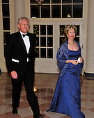 Jeff Immelt and Andrea Immelt arrive for the State Dinner in honor of President Hu Jintao of China at the White House In Washington, D.C. on Wednesday, January 19, 2011. .Credit: Ron Sachs / CNP.(RESTRICTION: NO New York or New Jersey Newspapers or newspapers within a 75 mile radius of New York City)