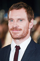 LONDON, UK. October 19, 2016: Michael Fassbender at the premiere of &quot;The Light Between Oceans&quot; at the Curzon Mayfair, London.<br /> Picture: Steve Vas/Featureflash/SilverHub 0208 004 5359/ 07711 972644 Editors@silverhubmedia.com
