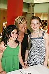 "Guiding Light's Kim Zimmer ""Reva"" poses with fans at the Young Women's Breast Cancer Foundation event - Reach to Recovery - ""Spring into Shape!"" Luncheon and Fashion Show on April 6, 2008 at Embassy Suites, Coraopolis, Pennsylvania. The event also included a Chinese Auction and an autograph session with the Guiding Light actors. (Photo by Sue Coflin/Max Photos)"