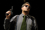 "Bebo Storti in ""Mai Morti"".Teatro dell\'Elfo.Milano 2/3/2002"