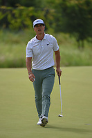 Thorbjorn Olesen (DEN) sinks his birdie putt on 14 during the round 1 of the AT&amp;T Byron Nelson, Trinity Forest Golf Club, Dallas, Texas, USA. 5/9/2019.<br /> Picture: Golffile | Ken Murray<br /> <br /> <br /> All photo usage must carry mandatory copyright credit (&copy; Golffile | Ken Murray)