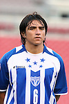 15 March 2008: Luis Alfredo Lopez (HON). The United States U-23 Men's National Team defeated the Honduras U-23 Men's National Team 1-0 at Raymond James Stadium in Tampa, FL in a Group A game during the 2008 CONCACAF's Men's Olympic Qualifying Tournament.