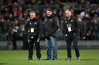 Action from the Game of Three Halves matches between the NZ All Blacks, Canterbury and Otago at AMI Stadium in Christchurch, New Zealand on Friday, 10 August 2018. Photo: Martin Hunter / lintottphoto.co.nzz