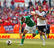 June 11th 2017, Dublin, Republic Ireland; 2018 World Cup qualifier, Republic of Ireland versus Austria; Jonathan Walters (Republic of Ireland) gets away from the challenge from Julian Baumgartlinger (Austria)