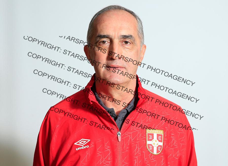 Futsal<br /> Portreti igraca Futsal nacionalne selekcije Srbije <br /> Head coach Aca Kovacevic<br /> Stara Pazova, 26.11.2015.<br /> foto: Srdjan Stevanovic/Starsportphoto &copy;