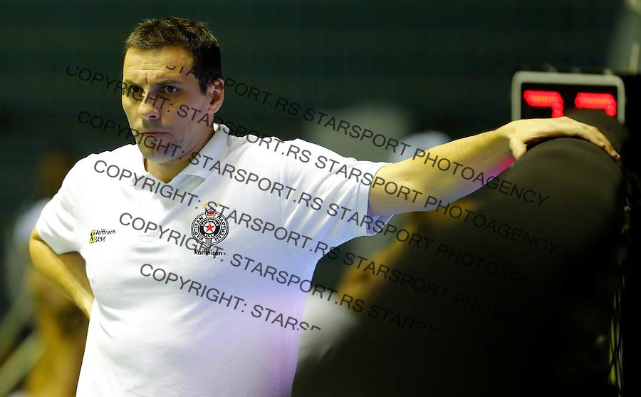 Vladimir Vujasinovic Partizan Galatasaraj liga sampiona vaterpolo, 28.11.2015. (credit image & photo: Pedja Milosavljevic / STARSPORT)