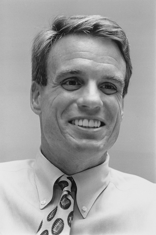 Democrat Mark Warner of Virginia. June 1995 (Photo by Laura Patterson/CQ Roll Call)