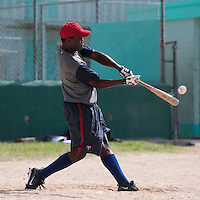 09 May 2010: Jean Antonio Samer is seen during a tryout for Team France, in St Maarten, Netherlands Antilles.