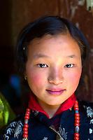 Girl, Paro, Bhutan