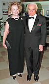 Jack Valenti, President and CEO, Motion Picture Association of America arrives at the White House in Washington, DC for the Official Dinner honoring Prime Minister Romano Prodi of Italy with his wife Mary Margaret on May 6, 1998.<br /> Credit: Ron Sachs / CNP
