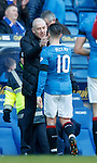 Mark Warburton and Barrie McKay