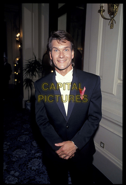PATRICK SWAYZE.half length, half-length.*RAW SCAN- photo will be adjusted for publication*.www.capitalpictures.com.sales@capitalpictures.com.©Capital Pictures