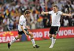 Fussball WM2010 Achtelfinale: Deutschland - England