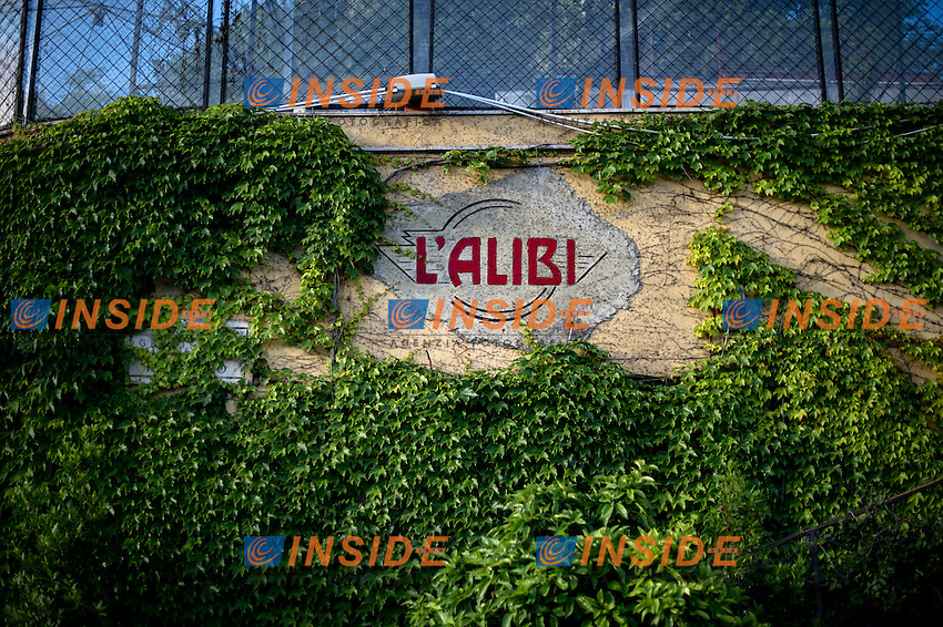 Alibi Insegna del locale <br /> Roma 03-05-2016 Citta' dell'Altra Economia <br /> Foto Andrea Staccioli Insidefoto