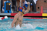 LOS ANGELES, CA - DECEMBER 03:  Alex Wolf (1) of the University of California Los Angeles celebrates during the Division I Men's Water Polo Championship held at the Uytengsu Aquatics Center on the University of Southern California campus on December 3, 2017 in Los Angeles, California. UCLA defeated USC 5-7 to win the National Championship. (Photo by Justin Tafoya/NCAA Photos via Getty Images)