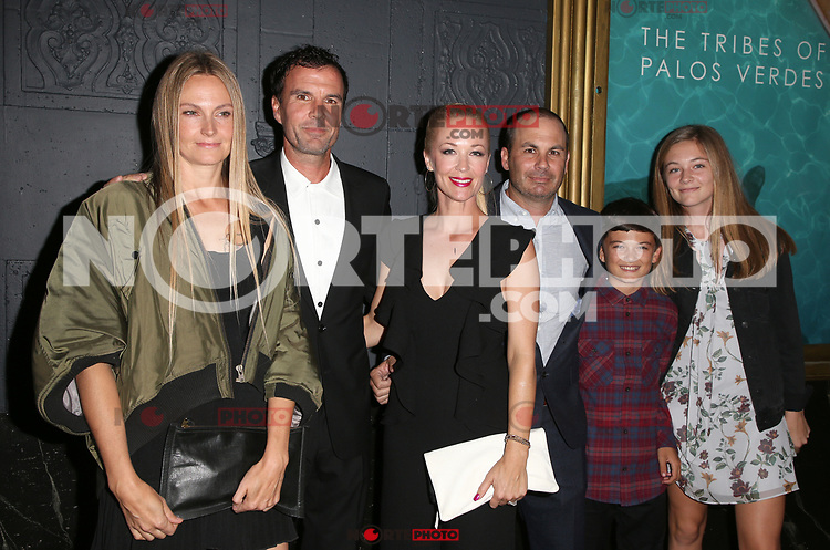 LOS ANGELES, CA - NOVEMBER 17: Hilary Walsh Malloy, Emmett Malloy, Amy Malloy, Brendan Malloy, Ty Malloy, Candace Malloy, at the Tribes Of Palos Verdes Premiere at The Ace Hotel Theater in Los Angeles, California on November 17, 2107. Credit: Faye Sadou/MediaPunch /NortePhoto.com
