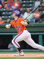 May 11, 2009: Catcher John Nester (17) of the Clemson Tigers in a game against the Furman Paladins at Fluor Field at the West End in Greenville, S.C. Photo by: Tom Priddy/Four Seam Images