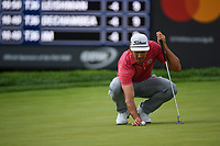Rafael Cabrera Bello (ESP) lines up his eagle putt on 5 during Rd3 of the 2019 BMW Championship, Medinah Golf Club, Chicago, Illinois, USA. 8/17/2019.<br /> Picture Ken Murray / Golffile.ie<br /> <br /> All photo usage must carry mandatory copyright credit (© Golffile   Ken Murray)