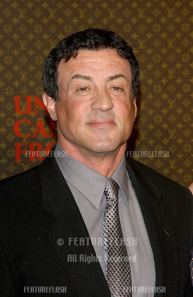 Nov 8, 2004; Los Angeles, CA; Actor SYLVESTER STALLONE at the Louis Vuitton United Cancer Front Gala at Universal Studios, California.