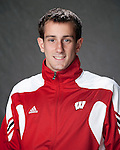 2010-11 UW Swimming and Diving Team - Chris Wiederecht. (Photo by David Stluka)
