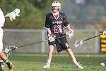 Palos Verdes, CA 03/30/10 - Colin Fitzgerald (Palos Verdes #23) in action during the Palos Verdes-Peninsula JV Boys Lacrosse game.