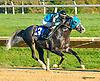Lazur Hess winning at Delaware Park on 10/7/15