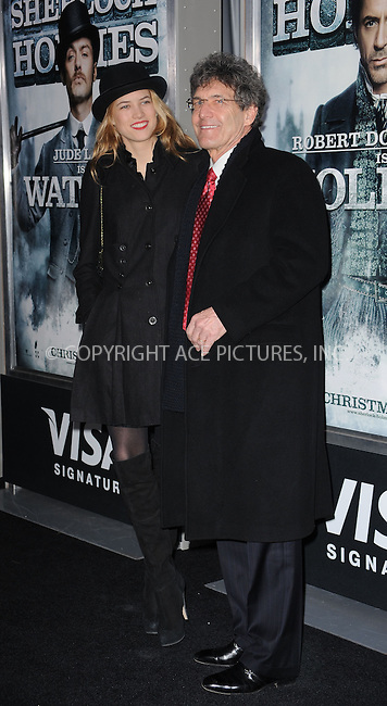 WWW.ACEPIXS.COM . . . . . ....December 17 2009, New York City....Cody Horn (L) and President of Warner Bros. Alan Horn arriving at the New York premiere of 'Sherlock Holmes' at the Alice Tully Hall, Lincoln Center on December 17, 2009 in New York City.....Please byline: KRISTIN CALLAHAN - ACEPIXS.COM.. . . . . . ..Ace Pictures, Inc:  ..(212) 243-8787 or (646) 679 0430..e-mail: picturedesk@acepixs.com..web: http://www.acepixs.com
